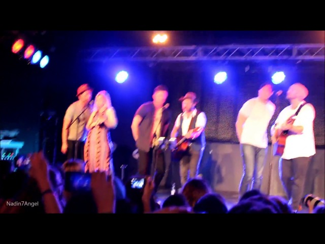 Jensen, Bri, Gil, Rob, Sasha, Jason - Wagon Wheel at Orion Club - JIB8