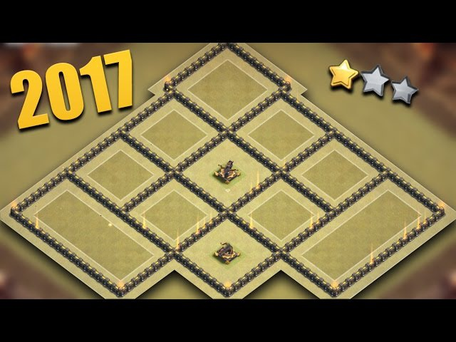 New 2017 TH9 WAR Base TESTED | Town Hall 9 War Base Best Anti 3 Star | Clash Of Clans