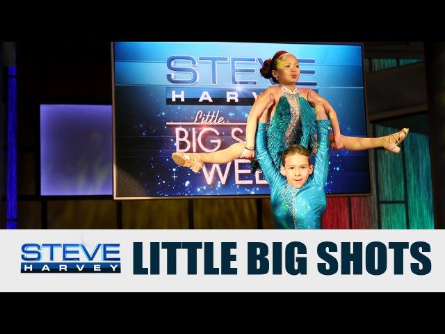 Little Big Shots: Salsa Dancers || STEVE HARVEY
