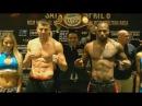 ГВОЗДИК - ГОНСАЛЕС ⚖  ЦЕРЕМОНИЯ ВЗВЕШИВАНИЯ & FACE-OFF Gvozdyk vs Gonzalez.Weigh in