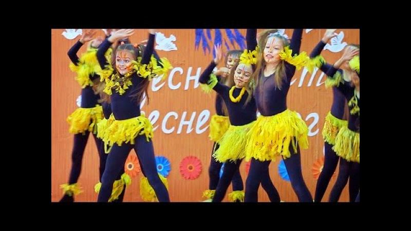 Африканцы на сцене! Номер концерта к 8 Марта 2016