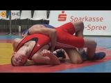 Ringen int. Brandenburg-Cup 2016 Junioren (Gr./Rö.) - 60kg 1/4 Finale