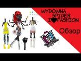 Обзор куклы Monster High Вайдона Спайдер  Wydowna Spider I love fashion CBX44