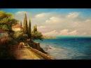 Oil Painting Mediterranean By Yasser Fayad