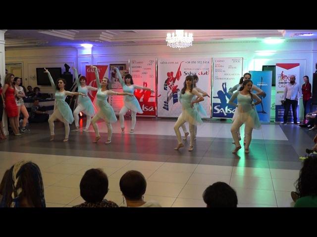 CubaSi 2016 - Шоу программа - «Salsa Club» г Киев, Хореография Юлия Ганночко - «Son Cha»