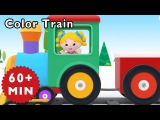 Nursery Rhymes Mother Goose Club  Learn Colors with COLOR TRAIN  Kids Songs  Songs for Children