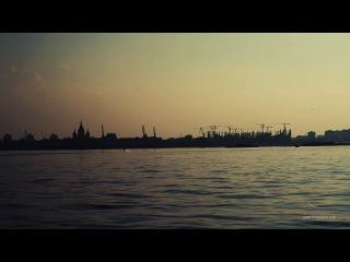 Нижний Новгород. Нижняя (заречная) часть, аэросъемка | SkyMovie