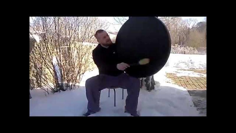 Шаманский бубен размером 80 см. Особенный звук! Ищет хозяина