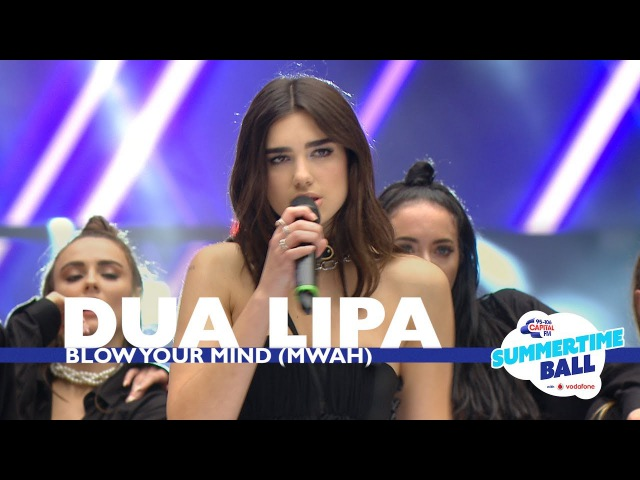 Dua Lipa 'Blow Your Mind Mwah Live At Capital's Summertime Ball 2017