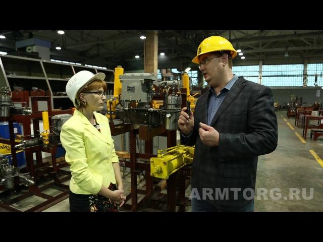 ПТПА Изготовление пневмоприводов для трубопроводной арматуры. Часть V.