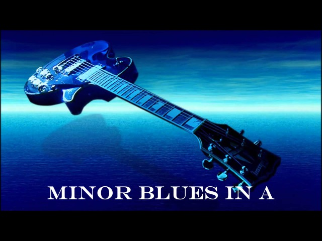 Blues in A minor Backing Track