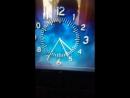 Часы во время ночной профилактики ОРТ, май 1998
