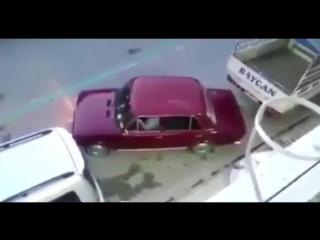 Гениальная система парковки