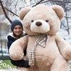 Большие медведи, плюшевые мишки тедди игрушки