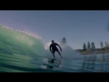 Chris Hemsworth Surfing from Instagram