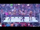 Raw - Triple H Batista vs. Randy Orton, Cody Rhodes Manu