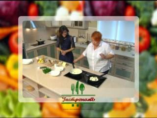 Говорим и Готовим... Вегетарианское блюдо из адыгейского сыра и жареных кабачнов с зеленью со специалистом по здоровому питанию