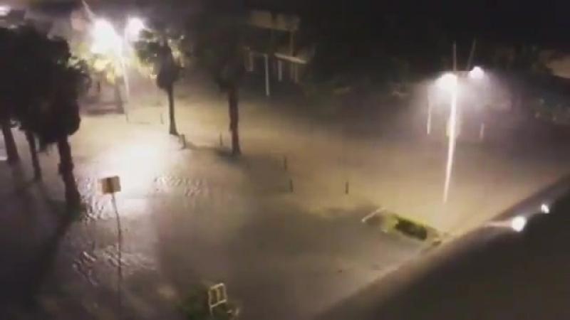 Ураган Мария в Гваделупе (18-19.09.2017)