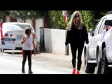 CelebsGo - Charlie Sheen's Ex Denise Richards Goes House Hunting With Daughters