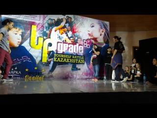 Final Hip-hop Junior (более 2 лет обучения) - Тяжёлый и Lady Li (Upgrade Yourself Kz 2017)