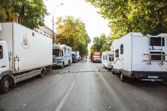 В Таганроге в очередной раз из-за съемок «Смотрителя маяка» в центре перекроют движение