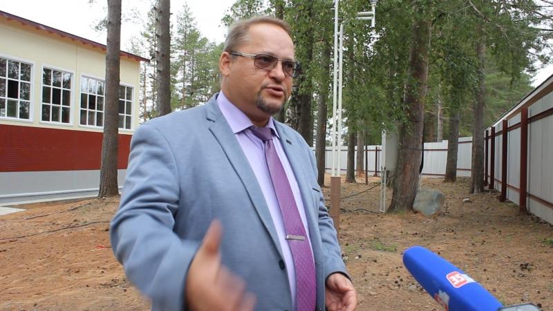Заместитель губернатора Вологодской области Олег Васильев о строительстве кадетской школы в Корабелах Прионежья