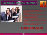Facebook Phone Number official Page to Flush Away your Facebook problem 1-888-830-5278
