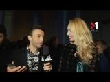 Оля Полякова в сюжете M1 Music Awards News. Випуск 10 - 22.10.2016