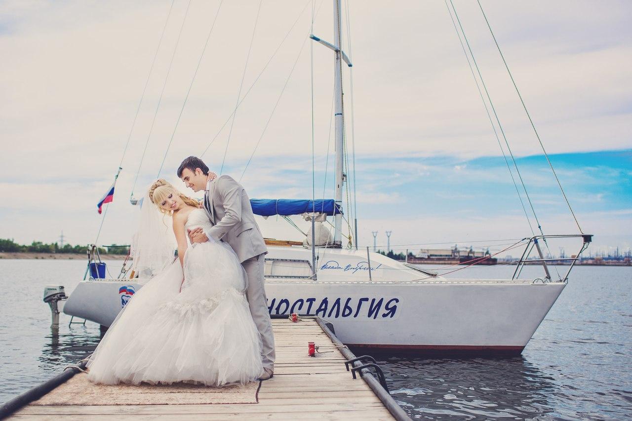 Фотосессия на яхте Владивосток