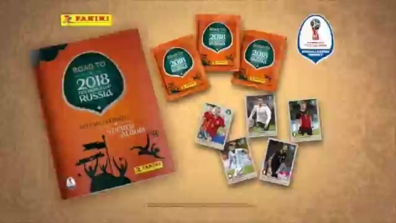 Panini ROAD TO 2018 WORLD CUP RUSSIA