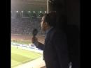 Великолепная отмосфера на игре Карабаха с Копенхагеном.Поддержка Азербайджанских болельщиков своей команде.