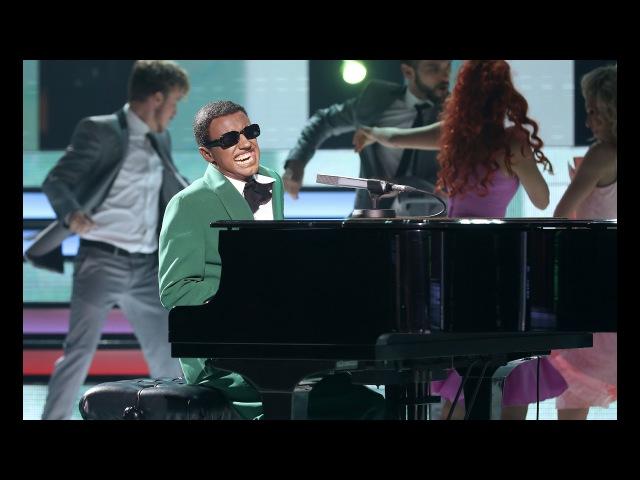 Canco Rodríguez y Sweet California imitan a Ray Charles y The Raelettes - Tu Cara Me Suena