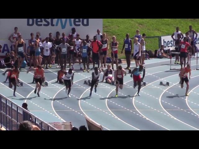 Akani Simbine Blazes to 9.93 (2.0) WL 100m Pretoria 2017