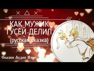 Как мужик гусей делил | Русская сказка | Аудиосказка | Сказки Аудио Няни