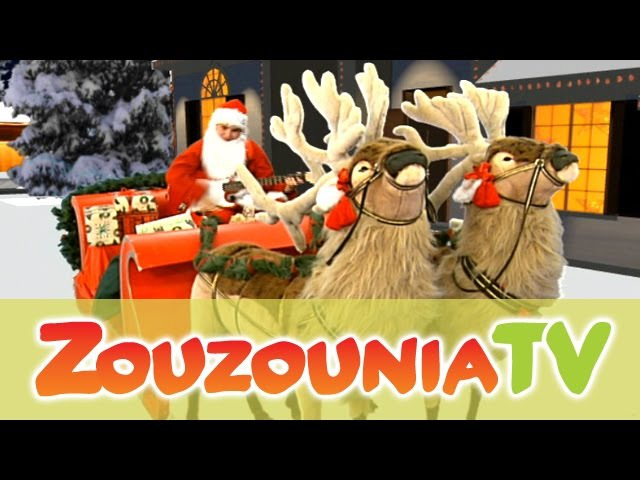 Santa Claus is coming to town | Christmas Songs for kids | Zouzounia feat. Anna Rose Amanda