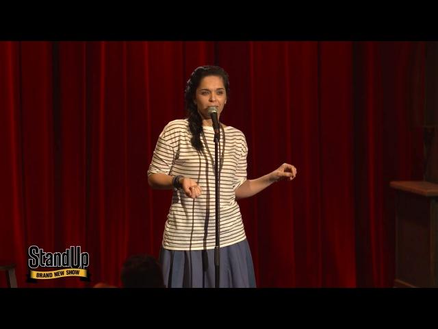 Stand Up Юля Ахмедова - Свидание с двадцатилетним мальчиком из сериала STAND UP смотрет...