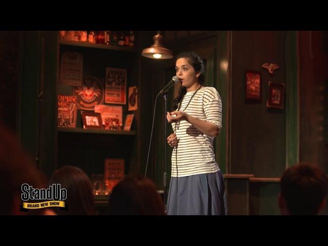Stand Up Юля Ахмедова - Гадалка из сериала STAND UP видео .