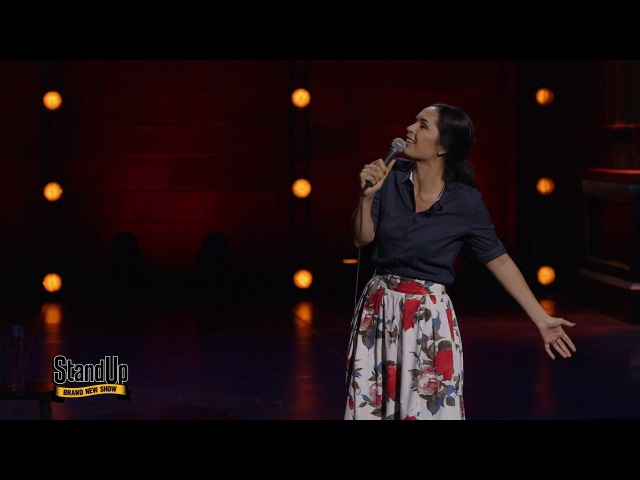Stand Up Юля Ахмедова - Золотой дождь из сериала STAND UP видео онла ...