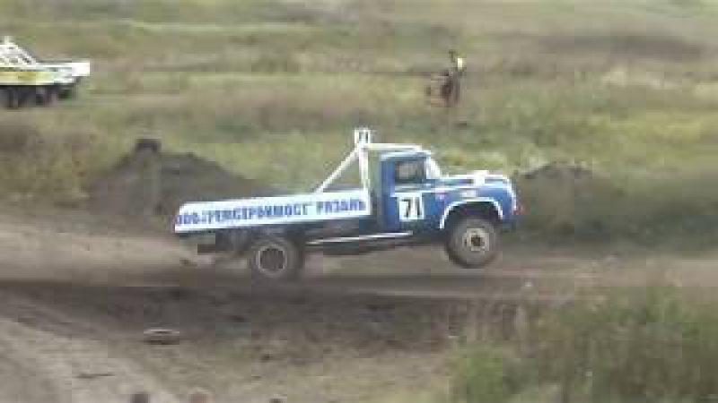 Автокросс Рязань 18.09.2017 ЗиЛ 130 Финал 2