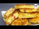 Оладьи в стиле ПИЦЦА Объедение Необыкновенно вкусный ароматный и питательный ЗАВТРАК