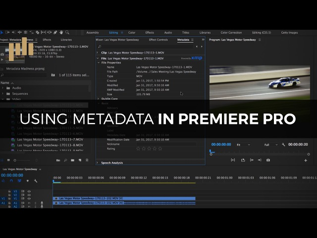 The Power of Metadata in Premiere Pro