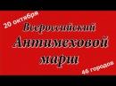 Всероссийский Антимеховой марш 20 октября 2013 (HD) - Центр защиты прав животных ВИТА