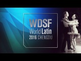 Malthe Brinch Rohde - Sandra Sorensen, DEN Samba 2016 World Latin