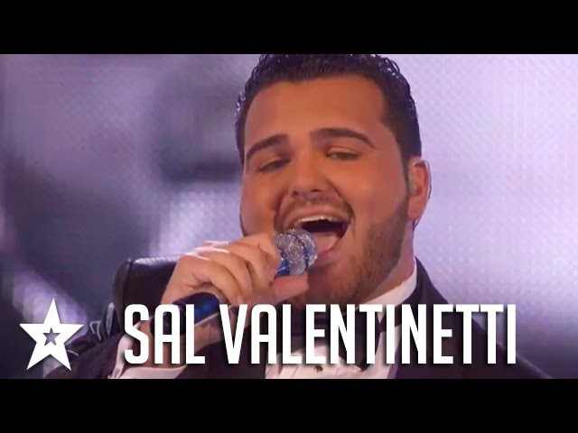 Sal Valentinetti Auditions Performances America's Got Talent 2016 Finalist