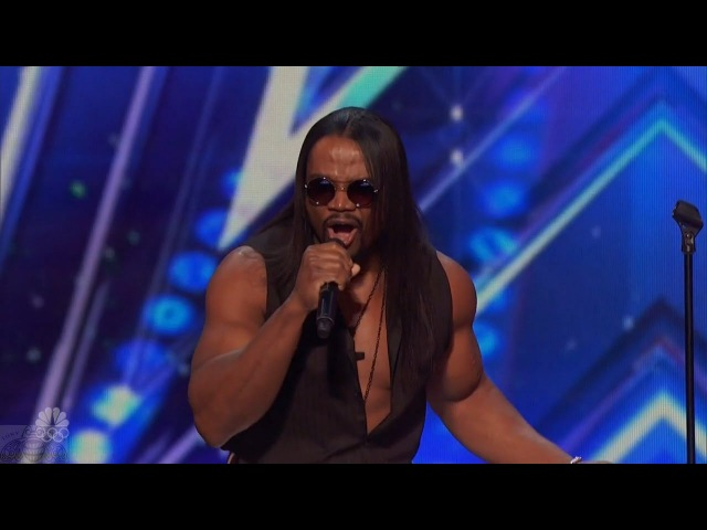America's Got Talent 2016 RL Bell Amazing Singer Almost Derailed By Cheesiness Full Audition Clip