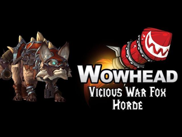 Vicious War Fox - Horde