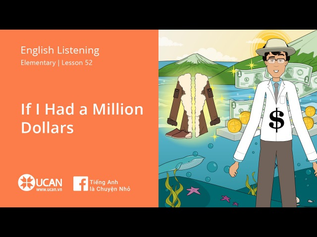 Learn English Listening | Elementary - Lesson 52. If I Had a Million Dollars