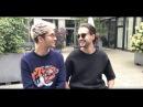 Bill Tom Kaulitz Videomessage for 3nach9 Talk Show Bremen Germany 15 09 2017