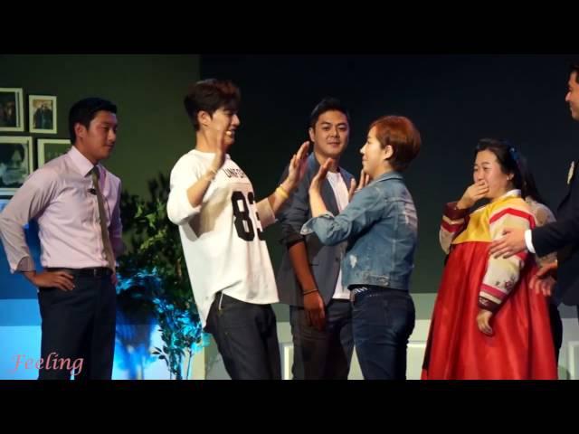 160925 朴海鎮 Club Jin's 期創團式-推拉高手