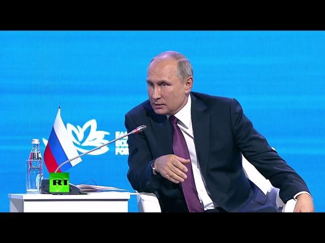 «Если всякие умники из американских структур не помешают»: Путин о сотрудничест...